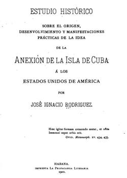 ANEXION DE LA ISLA DE CUBA