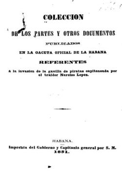 COLECCION DE PARTES Y OTROS DOCUMENTOS