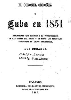 CUBA EN 1851