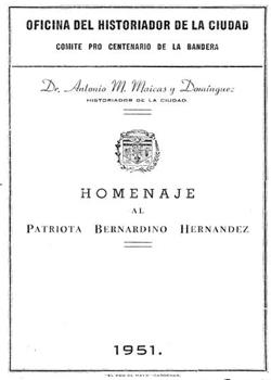 HOMENAJE A BERNARDINO HERNANDEZ