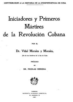 INICIADORES Y PRIMEROS MARTIRES (TOMO1)
