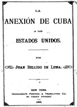 LA ANEXION DE CUBA A LOS ESTADOS UNIDOS