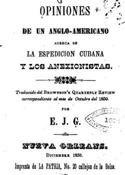 OPINIONES DE UN ANGLO-AMERICANO