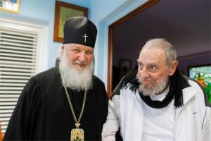 el-patriarca-ruso-kiril-visito-a-fidel-castro-en-la-habana