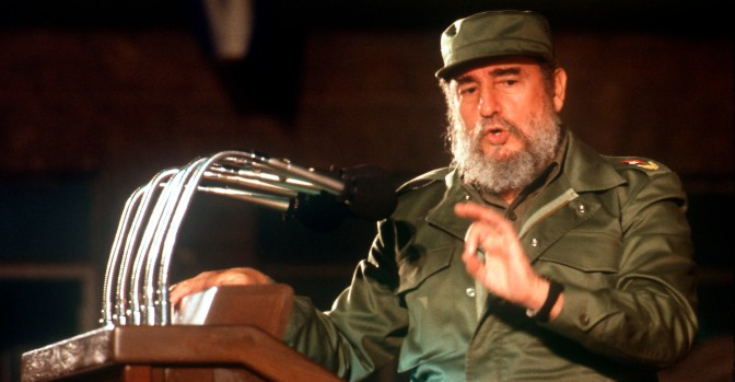 CUBA  Politics Fidel Castro giving speech (Newscom TagID: euphotos004526.jpg) [Photo via Newscom]